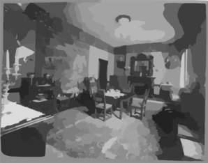 [nicholas Longworth, 1869-1931 - Dining Room Of Honorable Nicholas Longworth S House] Clip Art