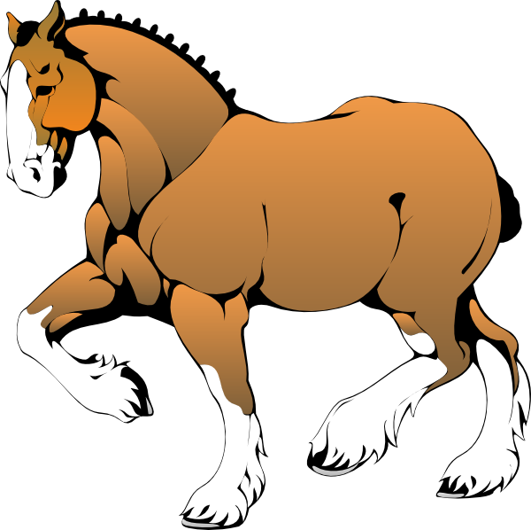 clipart picture of a horse - photo #28