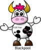 Me To Moo Blackpool Clip Art