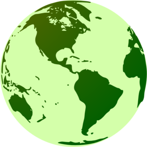 Globe Clip Art Green Globe Clip Art