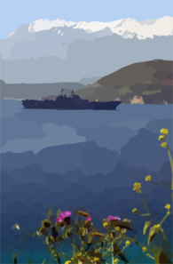 Uss Iwo Jima (lhd 7) Arrives For A Port Visit At The Port Of Souda Bay. Clip Art