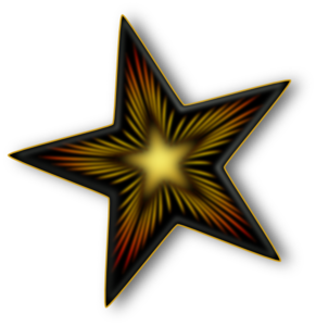 Decorative Star Clip Art