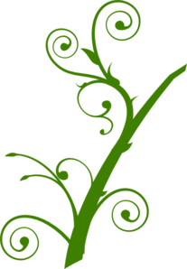 Green Branch Leaves Clip Art