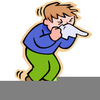 Person Sneezing Clipart Image