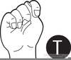 American Sign Language Clipart Image