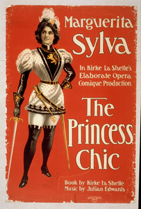 Marguerita Sylva In Kirke La Shelle S Elaborate Opera Comique Production, The Princess Chic Book By Kirke La Shelle, Music By Julian Edwards. Image