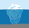 Tip Of The Iceberg Clipart Image