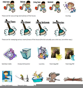 Chore Clipart Household Image