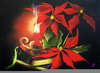 Christmas Paintings Clipart Image