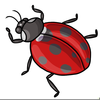 Lady Bugs And Clipart Image