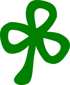 Three Leaf Clover Clip Art