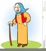 Little Old Lady Clipart Image