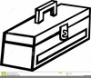 Toolbox Clipart Black And White Image