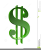 Free Clipart One Dollar Bill Image