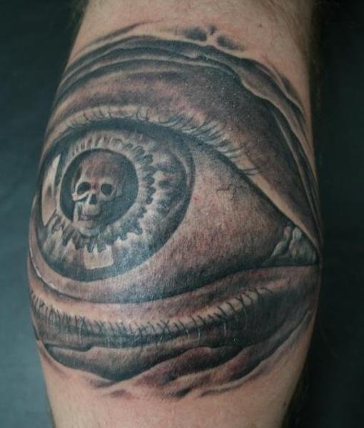 Evil Owl Tattoo