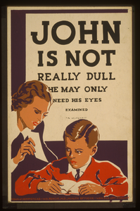 John Is Not Really Dull - He May Only Need His Eyes Examined Image