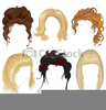 Hair Styling Clipart Image
