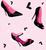 Bg Girly Heels And Hearts Image