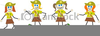 Girlguiding Brownie Clipart Image