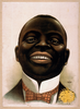 [bust Portrait Of Smiling African American, Facing Front] Image