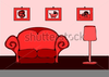 Free Living Room Clipart Image