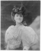 [yvette Guilbert, 1865-1944, Half Length Portrait, Standing, Facing Slightly Right] Image