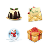 Christmas Icons Set 4x32 Preview Image