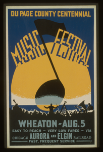 Du Page County Centennial Music Festival, Wheaton - Aug. 5 Image