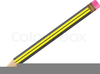 Pencil And Eraser Clipart Image