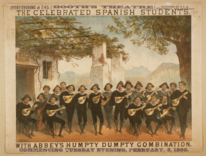 The Celebrated Spanish Students With Abbey S Humpty Dumpty Combination Image