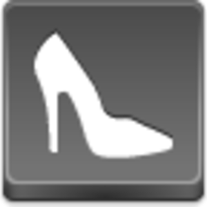 Free Grey Button Icons Shoe Image