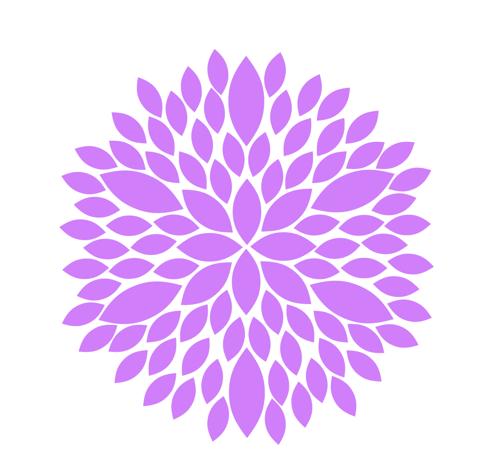 Purple Flower Clip Art | Free Images at Clker.com - vector ...