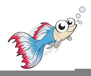 Bubble fish. Animated clipart free images