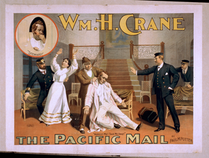 Wm. H. Crane. The Pacific Mail By Paul M. Potter. Image