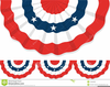 Usa Bunting Clipart Image