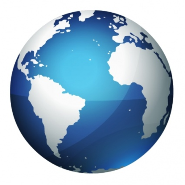 Earth Globe | Free Images at Clker.com - vector clip art ...