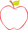 Clipart Image Of An Apple Image