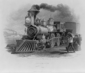 Train Locomotive Image