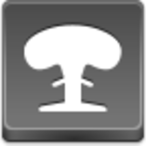 Free Grey Button Icons Nuclear Explosion Image
