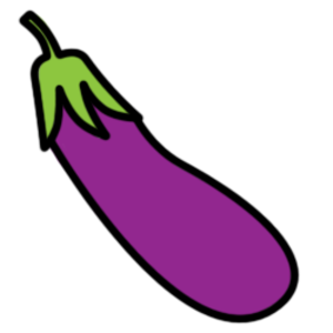 eggplant free images at clker com vector clip art online rh clker com eggplant tree clipart black and white eggplant clipart
