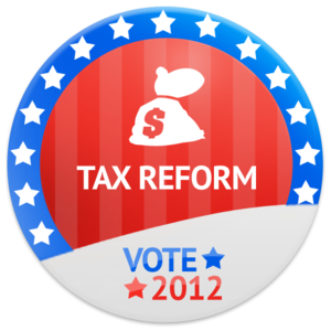 Vote Tax Reform Image