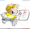 Free School Student Clipart Image