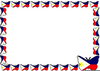 Flags Of The World Border Clipart Image