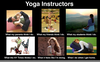 Yoga Instructor Funny Image