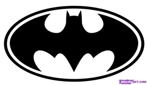 How To Draw Batman Logo Step Image