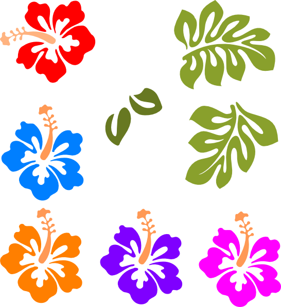 Tropical Mix Clip Art at Clker.com - vector clip art ...