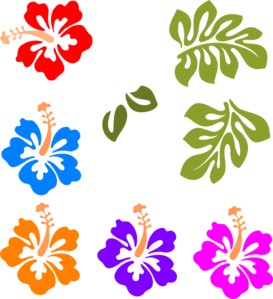 tropical mix clip art at clker com vector clip art online rh clker com tropical clipart png tropical clipart black and white