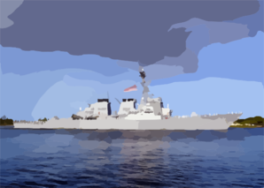 The Guided Missile Destroyer Uss Paul Hamilton (ddg 60) Returns Home To Pearl Harbor After A Deployment Clip Art
