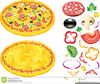 Pizza Crust Clipart Image