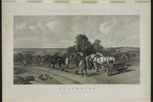 Agricultural Farming Ploughing Image